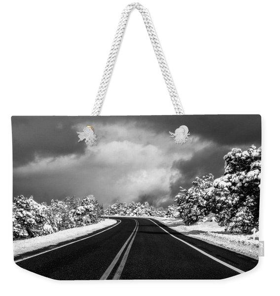 Arizona Snow Weekender Tote Bag