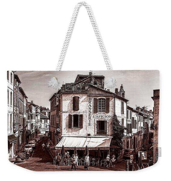 Arles, France, In Sepia Weekender Tote Bag