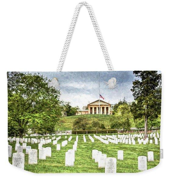 Arlington House Half Mast  Weekender Tote Bag