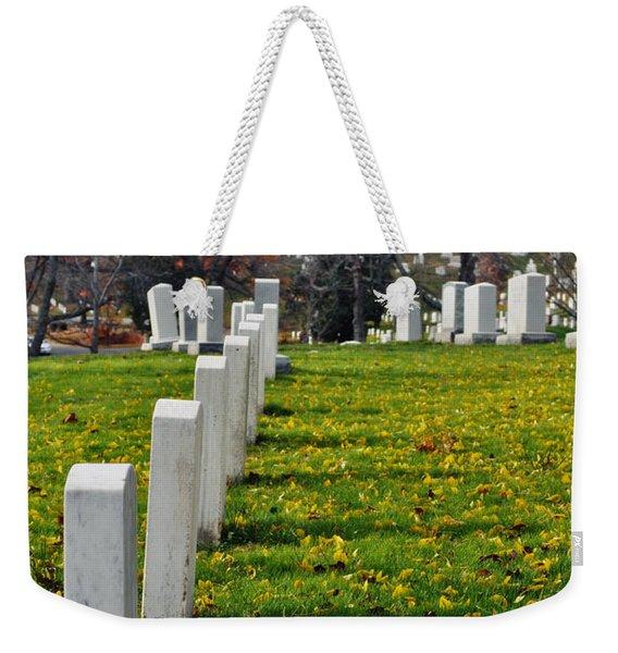 Arlington National Cemetery Hill Weekender Tote Bag