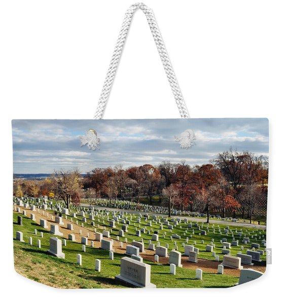 Arlington National Cemetery Hillside Weekender Tote Bag