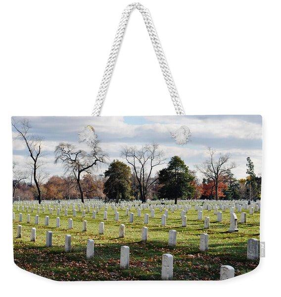 Arlington National Cemetery Landscape Weekender Tote Bag