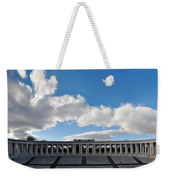 Arlington National Cemetery Memorial Amphitheater Panorama Weekender Tote Bag