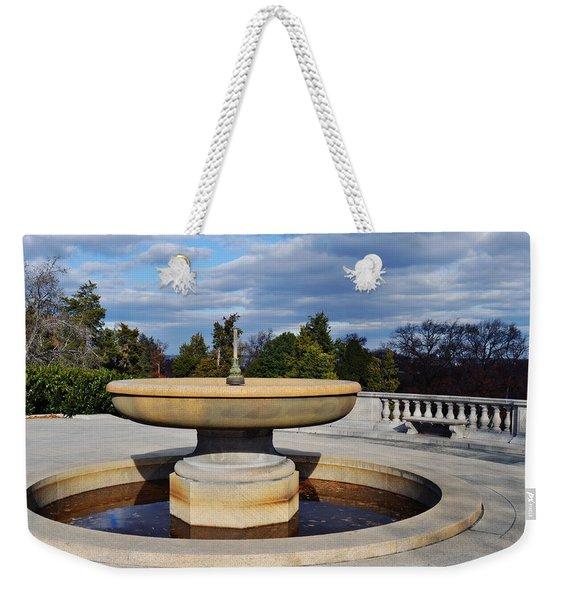 Arlington National Cemetery Memorial Fountain Weekender Tote Bag