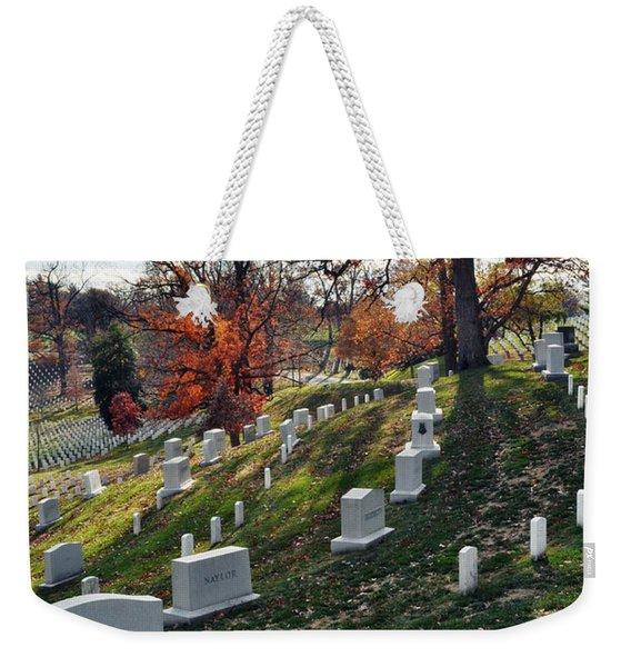 Arlington National Cemetery Portrait Weekender Tote Bag