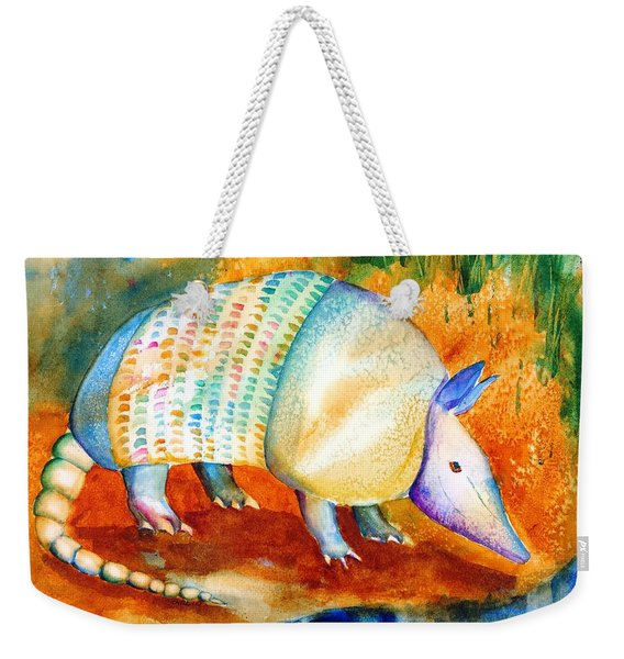 Armadillo Reflections Weekender Tote Bag