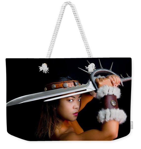 Armed And Dangerous Weekender Tote Bag