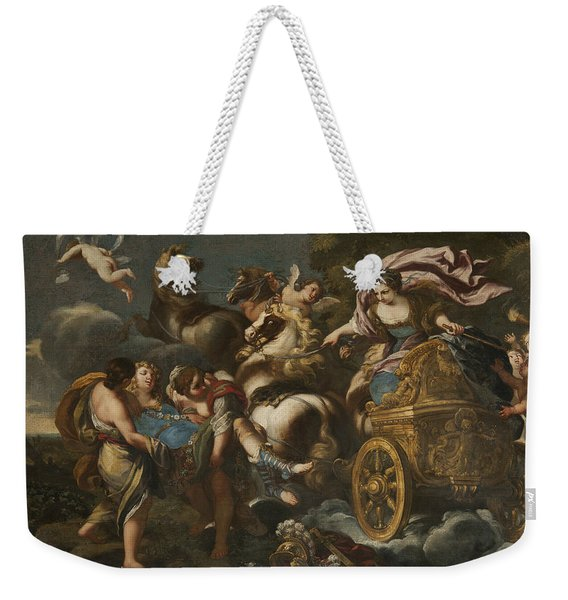 Armida Abducts Rinaldo Weekender Tote Bag