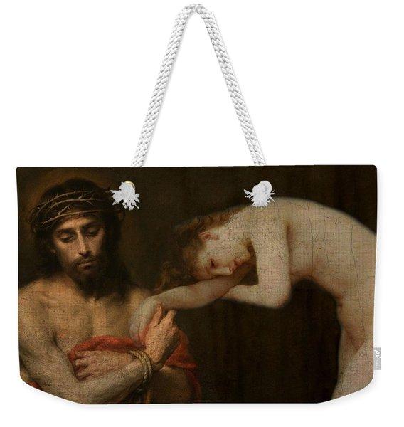 Arms Of Mary  Weekender Tote Bag