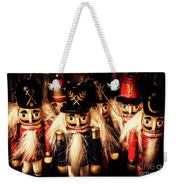 Army Of Wooden Soldiers Weekender Tote Bag