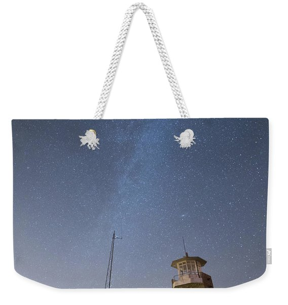 Arouca And The Milky Way Weekender Tote Bag