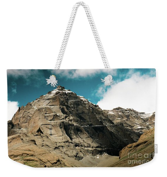 Around Holy Kailas Himalayas Tibet Yantra.lv Weekender Tote Bag