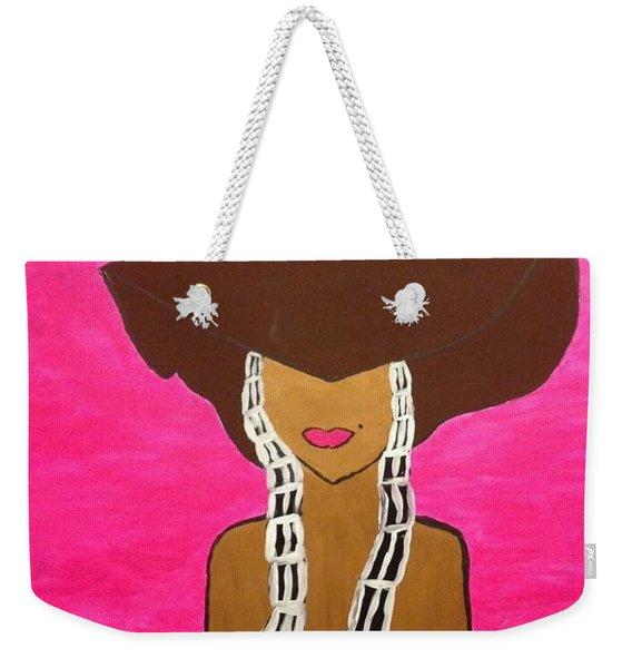 Around The Way Girl  Weekender Tote Bag