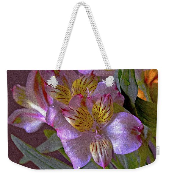 Arrangement 11 Weekender Tote Bag