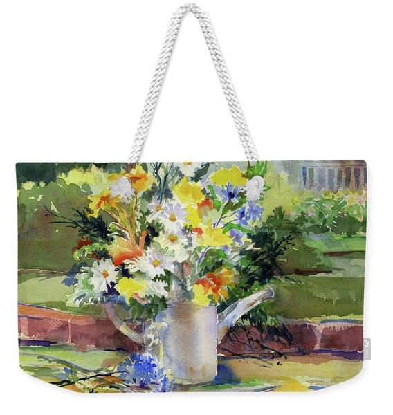 Cut Flowers Weekender Tote Bag