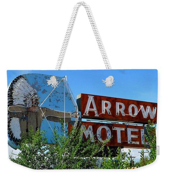 Arrow Motel Weekender Tote Bag