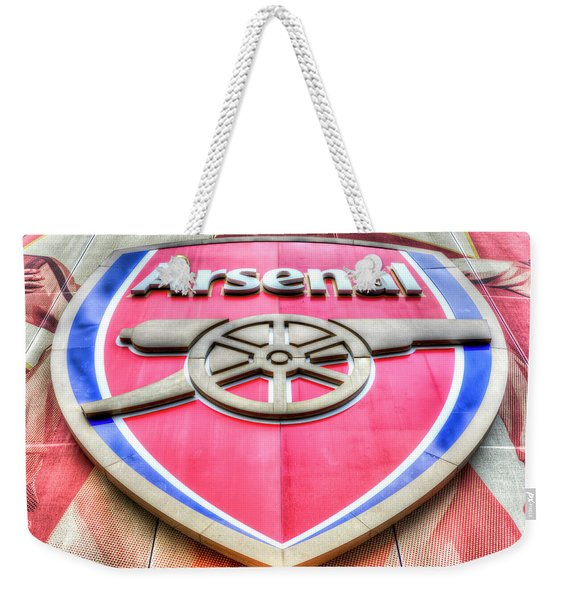 Arsenal Football Club Symbol Weekender Tote Bag