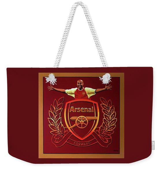 Arsenal London Painting Weekender Tote Bag