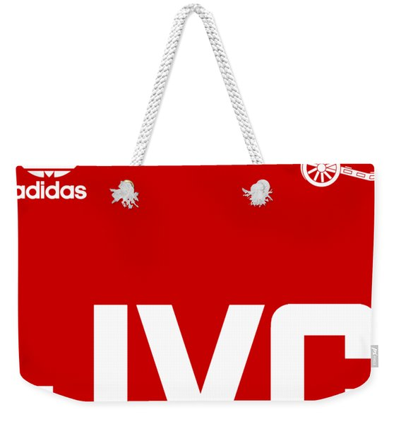 Arsenal Retro Weekender Tote Bag