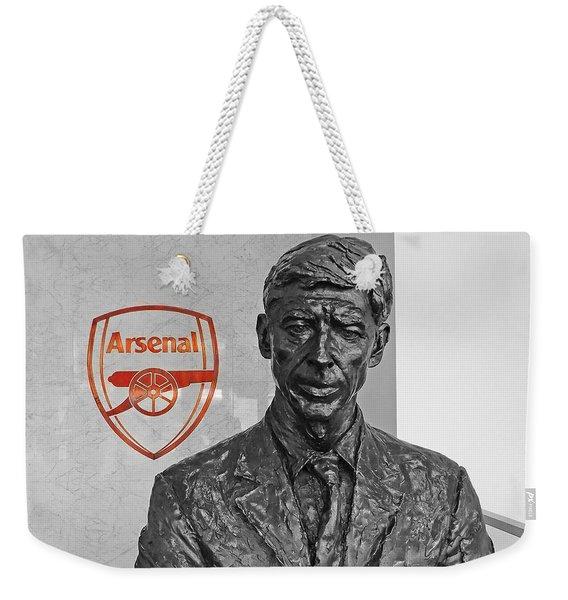 Arsene Wenger - Le Professeur Weekender Tote Bag