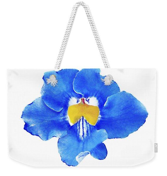 Art Blue Beauty Weekender Tote Bag