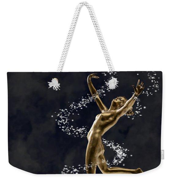 Art Deco Dancer Weekender Tote Bag