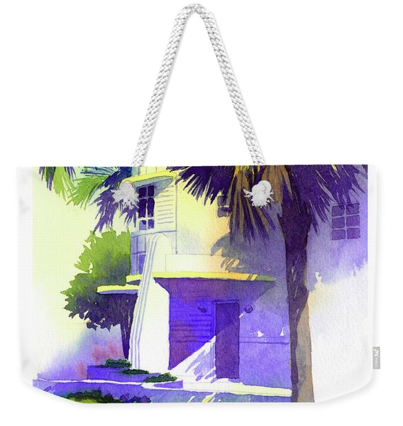 Art Deco Hotel Miami Weekender Tote Bag