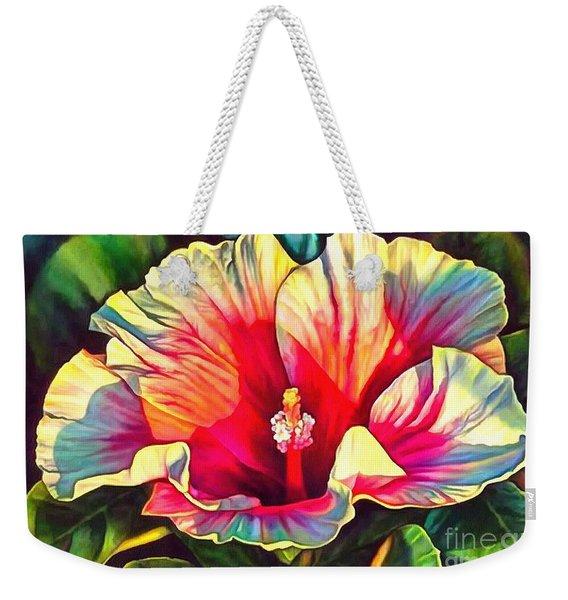 Art Floral Interior Design On Canvas Weekender Tote Bag