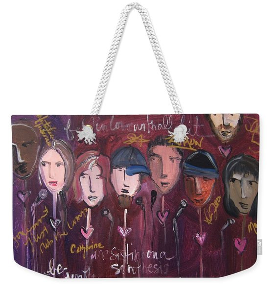 Art From Ashes 2010 Weekender Tote Bag