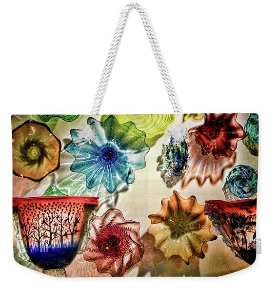 Art Glass Weekender Tote Bag
