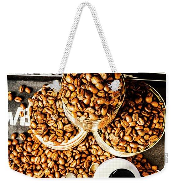 Art In Commercial Coffee Weekender Tote Bag