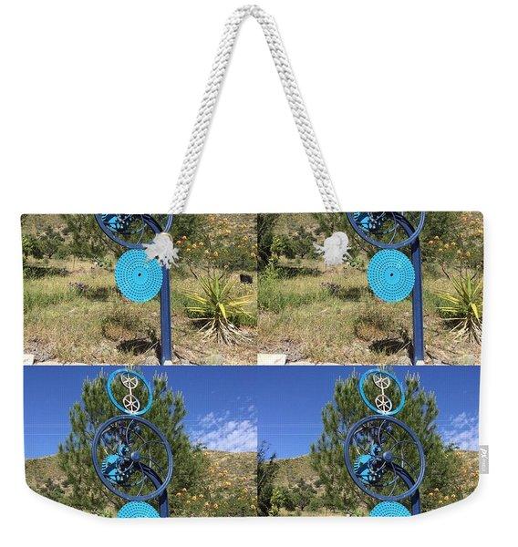 Art In The Garden  Weekender Tote Bag