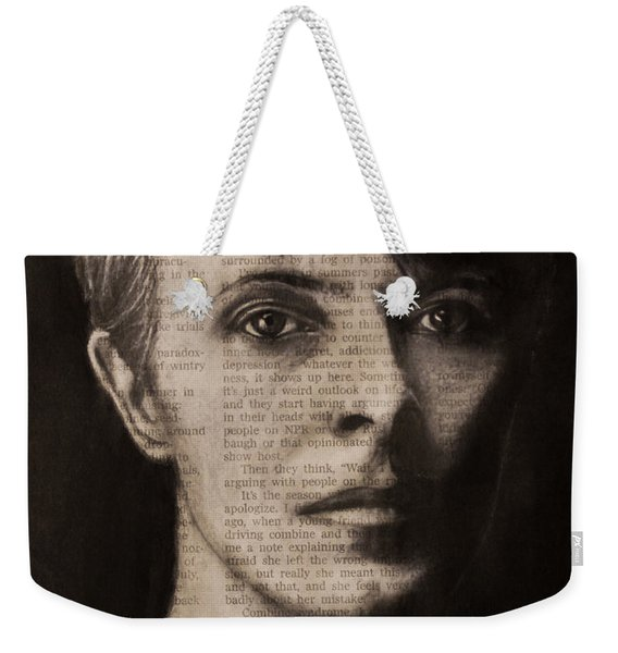 Art In The News 78-bowie Weekender Tote Bag