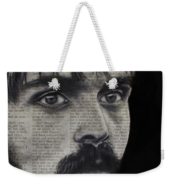 Art In The News 95-steve Prefontaine Weekender Tote Bag