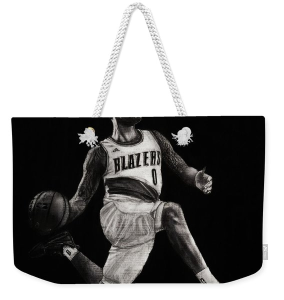 Art In The News- Lillard Weekender Tote Bag