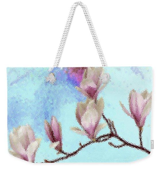 Art Magnolia Weekender Tote Bag