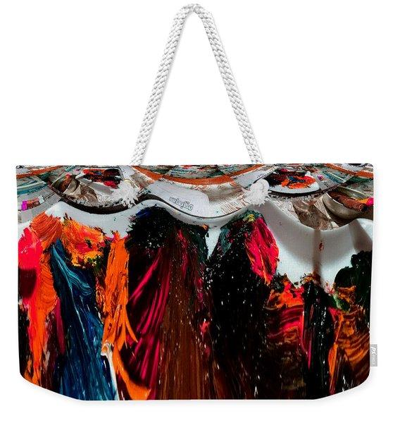 Art News Room Weekender Tote Bag