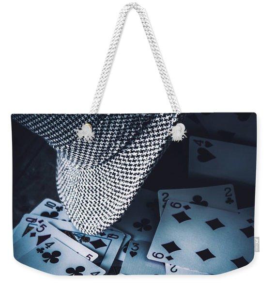 Art Of A Betting Man  Weekender Tote Bag