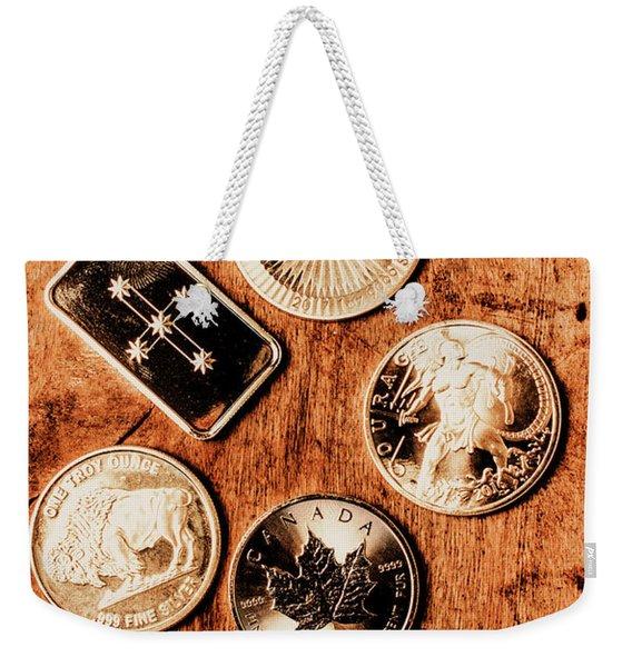 Art Of A Sliver Collector Weekender Tote Bag