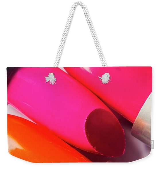 Art Of Beauty Products Weekender Tote Bag