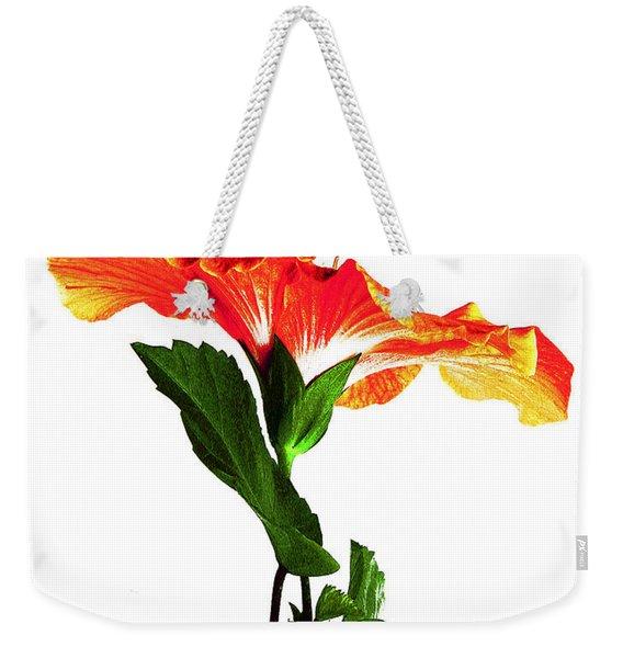 Art Orange Weekender Tote Bag