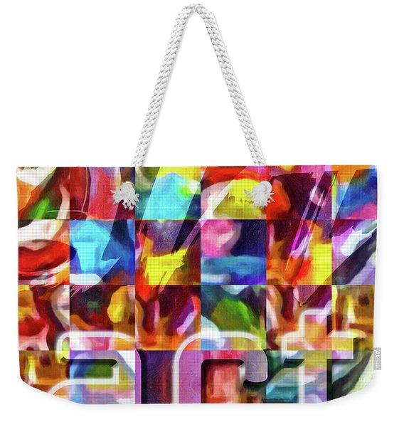 Art Type Weekender Tote Bag