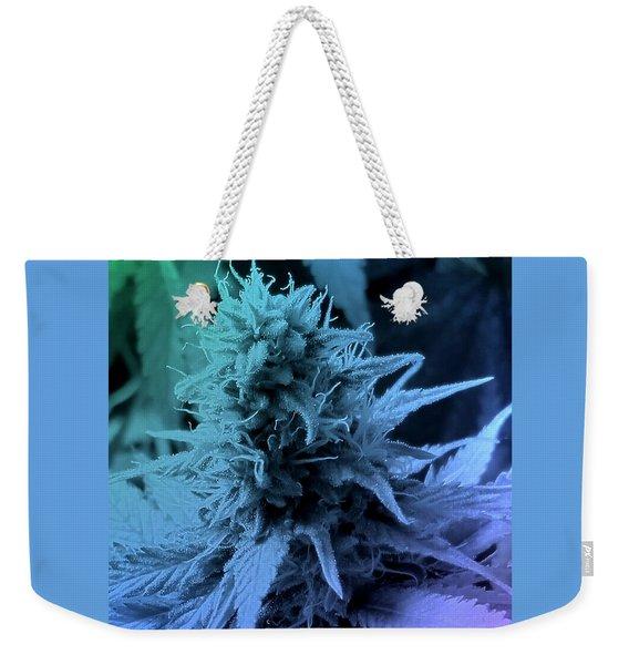 Artful Oasis Macro Abstract 112216.5 Weekender Tote Bag