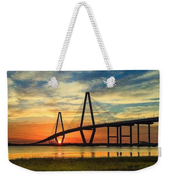 Arthur Ravenel Jr. Bridge - Charleston Sc Weekender Tote Bag