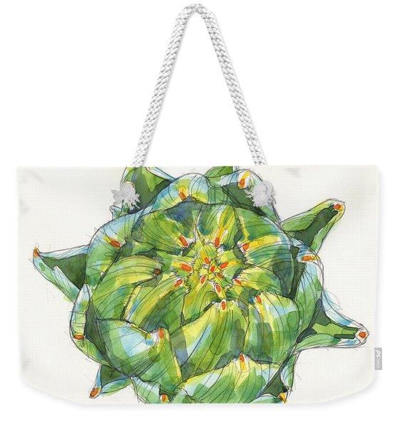 Artichoke Star Weekender Tote Bag