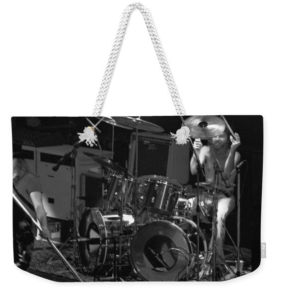 Artimus Pyle At Winterland Weekender Tote Bag