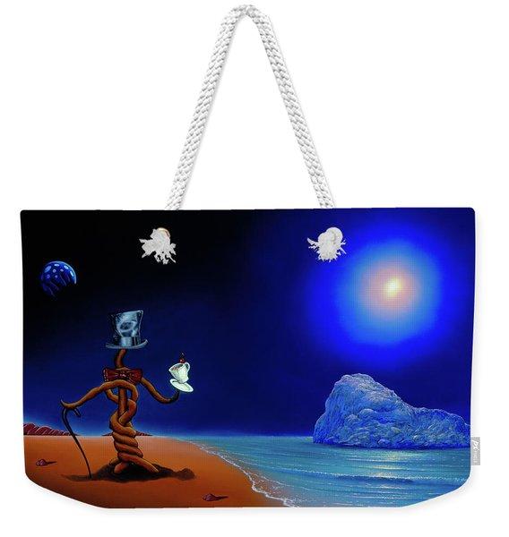 Artist Conversing Weekender Tote Bag