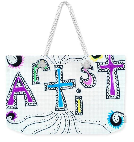 Artist Weekender Tote Bag