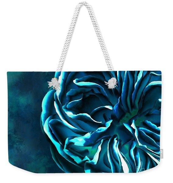 Artistique Rose Blue Weekender Tote Bag