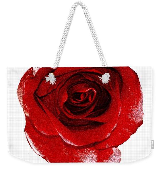 Artpaintedredrose Weekender Tote Bag